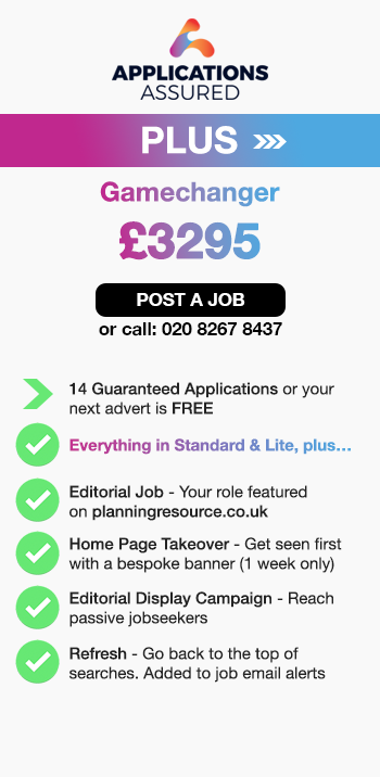 Applications Assured Plus. Gamechanger. £3295. Post a Job or call 02082678437. 14 Guaranteed Applications or your next advert is FREE. Everything in Standard & Lite, plus…. Editorial Job - Your role featured